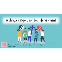 Chaque religion son bout de vêtement