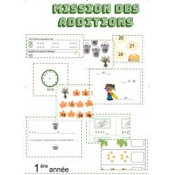 MISSION DES ADDITIONS / 1 ère ANNÉE