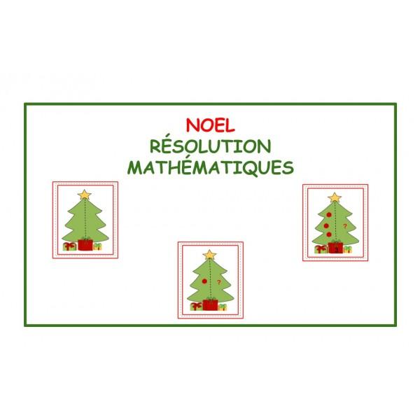 NOEL / Mathématiques / Résolution