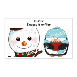 HIVER / Images à enfiler
