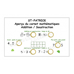 ST-PATRICK / Aperçu mathématiques  / 1-10