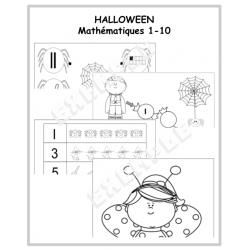 HALLOWEEN / Mathématiques 1-10
