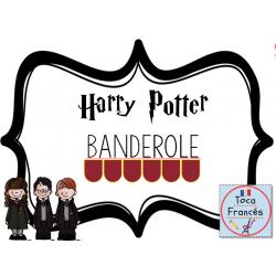Banderole Bienvenue Harry Potter