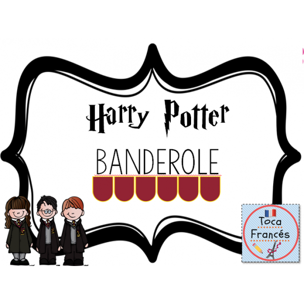Banderole Bienvenue Harry Potter