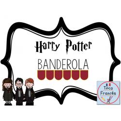 Banderola HARRY POTTER en español/ espagnol