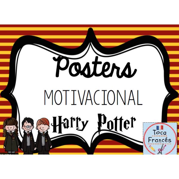 Posters con citas célebres de Harry Potter