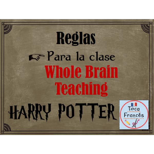 Reglas para la clase HARRY POTTER según WBT