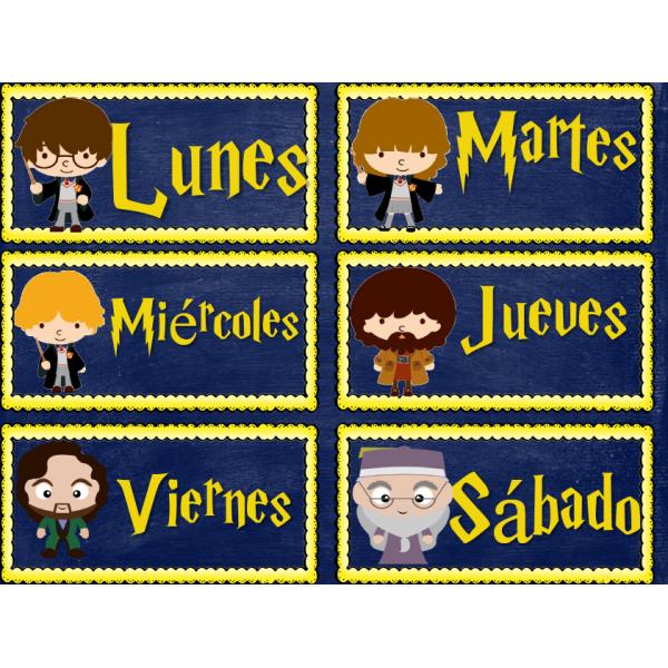 Calendario Harry Potter en español