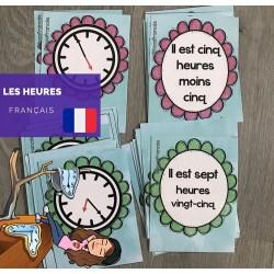 Les heures en français
