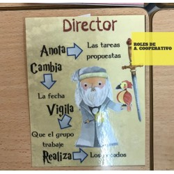 Roles aprendizaje cooperativo
