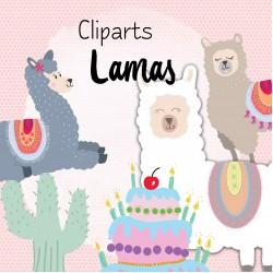 Cliparts lamas