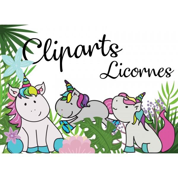 Cliparts licornes