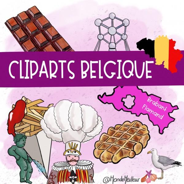 Cliparts Belgique