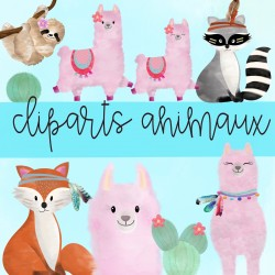 Cliparts animaux
