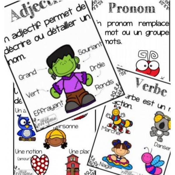 Affiches groupes de mots