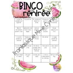 Bingo de la rentrée