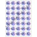 Décompte les 100 jours (Pour calendrier de classe)