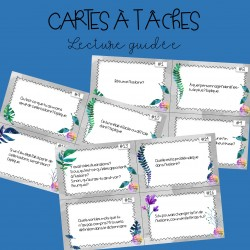 Cartes à tâches - Lecture guidée