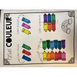 Parlons couleurs (arts plastiques)