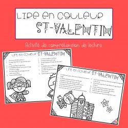 Lire en couleur ST-VALENTIN