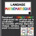 Affiches mathématique GRANDISSANT