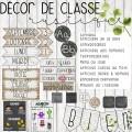 DÉCOR DE CLASSE RUSTIQUE (BUNDLE)