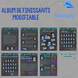 ALBUM DE FINISSANTS modifiable