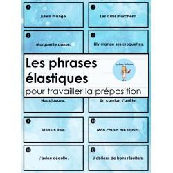 Les phrases élastiques - La préposition