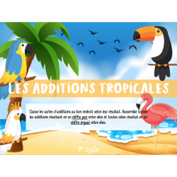 Les additions tropicales - 1er cycle