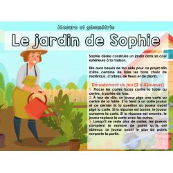 Le jardin de Sophie - mesure et géométrie