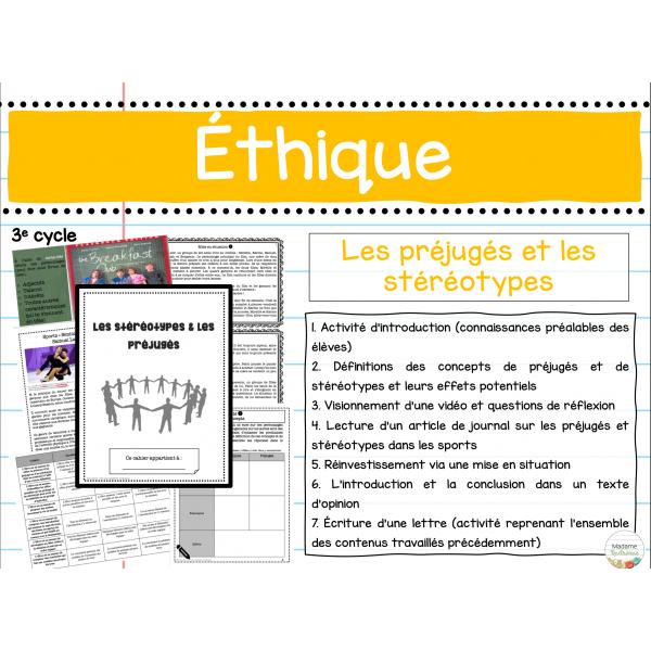 Éthique (préjugés et stéréotypes)