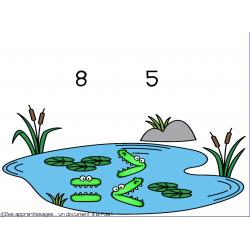 jeu TBI de comparaison avec des alligators
