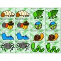 jeu de mémoire les insectes et les petites bêtes