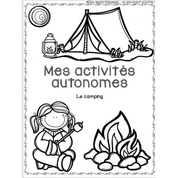Cahier d'enrichissement : Camping