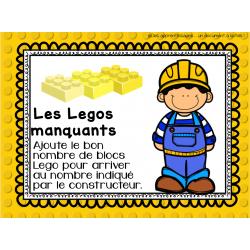 Atelier : Les Legos manquants