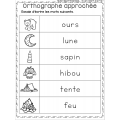 Orthographe approchée de camping