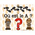 Atelier : OÙ est le A ?