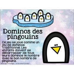 Atelier : dominos des pingouins