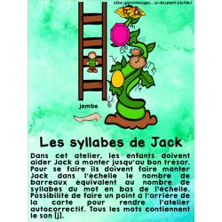 Atelier : les syllabes de Jack