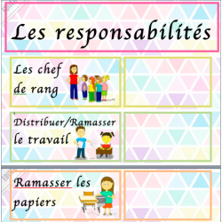 les responsabilités