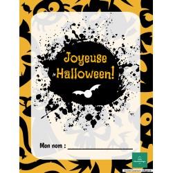 Mon cahier d'Halloween