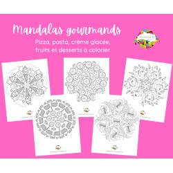 Mandalas gourmands