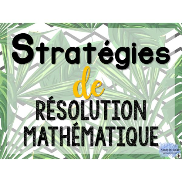 Stratégies mathématiques