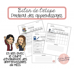 Portrait des apprentissages - 3e cycle