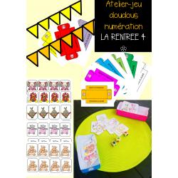 """Atelier-jeu """"la rentrée 4"""" les doudous"""