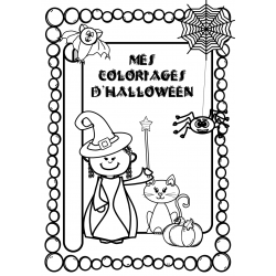 mes coloriages d'Halloween