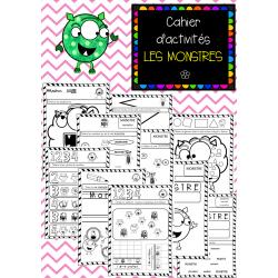 Cahier d'Activités LES MONSTRES