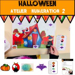 Atelier numération Halloween 2