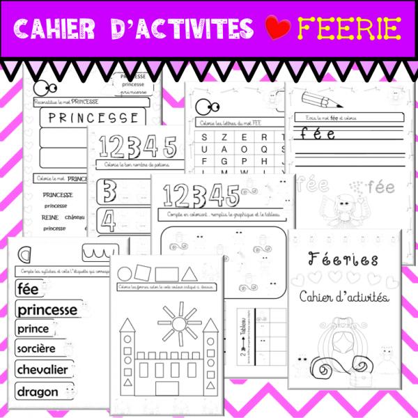 Cahier d'activités FEERIE