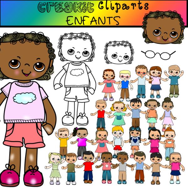 CréaKit Cliparts ENFANTS